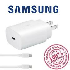 Original Samsung Galaxy EP-TA800 Note 10+ 25W Super Fast Charger S10 USB-C White