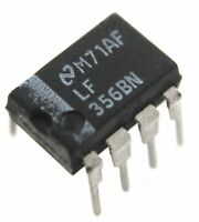 LF356BN JFET Operational Amplifier - Lot of 1, 5, or 10.