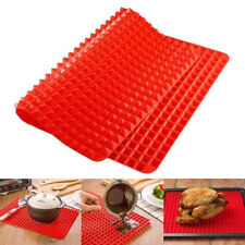 Pyramid Pan Non Stick Heat Resistant Silicone Cooking Mat Oven Baking Tray Sheet
