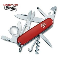 🌟🌟🌟🌟 NEW VICTORINOX SWISS ARMY KNIFE 91mm EXPLORER RED BOXED 1.6703-033-X1