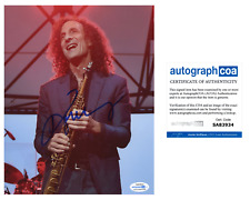 Kenny G Saxaphone Signed Autographed 8x10 Photo EXACT Proof ACOA Authenticated E