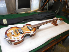 "1960s Japanese Electric Beatle Bass  SUNBURST!! Univox, Aria, ""RARE FRETLESS"""
