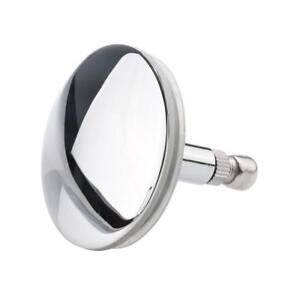 Bathtub Basin Drain Stopper Plug Chrome Bathroom Bath Plug Drain 44mm Standard