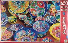 650 Pc Jigsaw Puzzles Bowls Cakes Flowers Horses Mittens Tarot… Select: Theme