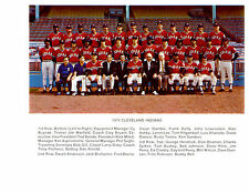 1974 CLEVELAND INDIANS TEAM 8x10 PHOTO  BASEBALL JIM & GAYLORD PERRY HOF