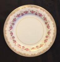 """Noritake Fine China 7 1/2"""" Salad Plate Ridgewood Pattern # 5201"""