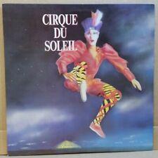 Cirque du Soleil . original cast . composed by Rene Dupere . 1987 Naga LP