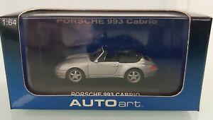 AUTOart 20131 Porsche 993 Cabrio Silver