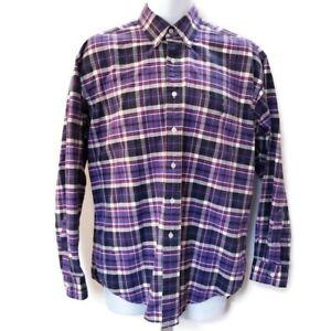 Ralph Lauren NWT Mens Sz 18 34/35 Purple Striped Long Sleeve Dress Shirt