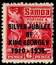 SAMOA SG179, 6d brt carmine, NH MINT.
