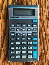 Vintage Radio Shack Business Financial Calculator EC-5100