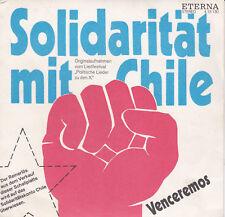 "7""Vinyl Single / Solidarität mit Chile-Venceremos (1973) / DDR Eterna 4 15 130"