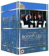 BOSTON LEGAL 1-5 (2004-2009): The COMPLETE TV Season Series - NEW UK DVD not US