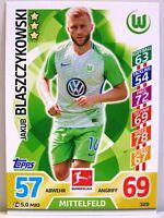 Match Attax 2017/18 Bundesliga - #320 Jakub Blaszczykowski - VfL Wolfsburg