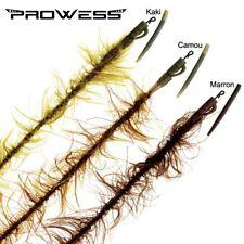 Montage de fuite lead core weedlook marron Prowess Elitech 80cm par 2