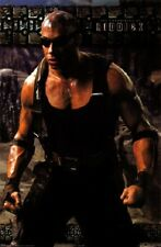 Universal Studios The Chronicles Of Riddick Vin Diesel Movie Poster Free Ship
