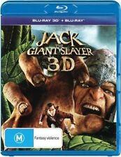 Jack The Giant Slayer 3d Blu-ray Region B Aust Post