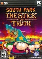 South Park: The Stick of Truth Bonus (PC DVD-ROM,) Free 3 Day Shipping, New