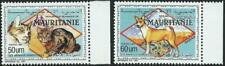 MAURITANIA - 1991 'DOMESTIC ANIMALS - Cats & Dogs' Pair MNH SG974-75 [A3014]