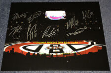 2013/14 MONTREAL CANADIENS Inside BELL Center 11x14 AUTO Signed by 8~CAREY PRICE