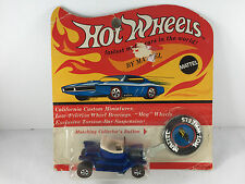 Hot Wheels Redline HOT HEAP Blue IN BLISTER BP Carded Blisterpack US Button!!