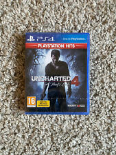 Uncharted 4: A Thief's End (Sony PlayStation 4, 2018) - Factory Sealed