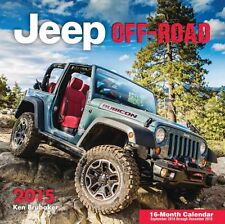 JEEP OFF ROAD CALENDAR 2015 WRANGLER CHEROKEE GRAND CHEROKEE PATRIOT TJ KJ CJ