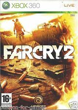 FAR CRY 2 for Xbox 360 - with box, manual & map - PAL
