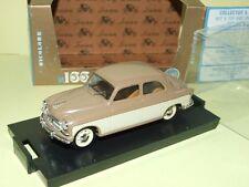 FIAT 1400 B 1956-58 Crème & Marron BRUMM R166