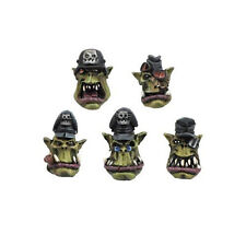 Ork war2 10 têtes officiers avec adjoint Casques Bonnets Ork BITZ kromlech