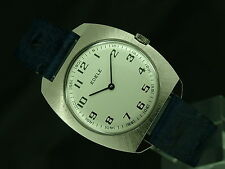 Vintage Retro Edele Swiss Gents Mechanical Watch, NOS, 70's