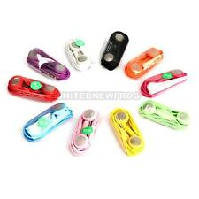 New 10x Earphone Headphone With Mic For iPhone 4G 4S 3GS 3G Mp3 iPod Touch Nano