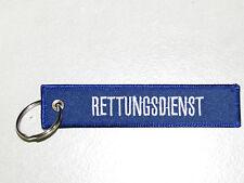 """Schlüsselanhänger """"RETTUNGSDIENST"""""""