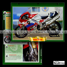 #110.05 Fiche Moto HONDA RVF 750 HRC 1994 Racing Bike Motorcycle Card