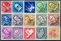 HUNGARY - 1963.Cpl.Set - Anniversaries (Roses)MNH!!!
