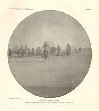 Idaho, Ft. Hall Agency, Bannock & Shoshone Indians, Ghost Or Messiah Dance, 1890