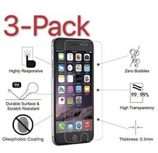 3-Pack iPhone 6 / 7 / 8 Plus 11 X XS Tempered GLASS Screen Protector Bubble Free