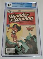 WONDER WOMAN #600 CGC 9.8 ADAM HUGHES VARIANT SENSATION COMICS 1 HOMAGE 1:25