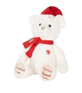 Harrods My First Christmas 2016 Teddy Bear