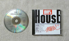 """CD AUDIO MUSIQUE / VARIOUS """"100% HOUSE MUSIC"""" ( MR LEE, CEEJAY, DALU..)  9T 1988"""