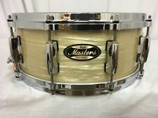 """Pearl Masters Mmg 14"""" X 5.5"""" Snare Drum/Platinum Gold Oyster/#453/Maple-Gum/New"""