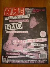NME 2002 JAN 26 SIMON COWELL VS TRAVIS WHITE STRIPES