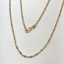 18 K Yellow Gold Chain Necklace 4.8 Grams Women 16 inches