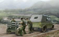 Trumpeter 02320 Milytary Jeep Type 63 107 mm Rocket Launcher Modellino