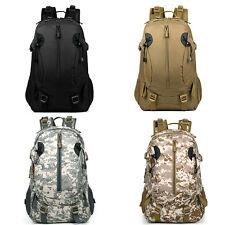 30L Hiking Camping Bag Army Military Tactical Trekking Rucksack Backpack Camo AU