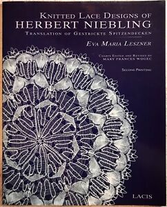 Knitted Lace Designs Of Herbert Niebling (Book) Eva Maria Leszner