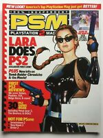 TOMB RAIDER CHRONICLES November 2000 PSM PLAYSTATION 2 Magazine SSX