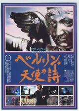 Wings of Desire (Der Himmel uber Berlin) JAPAN FLYER Wim Wenders, Bruno Ganz