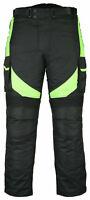 Motorbike Motorcycle Waterproof Cordura Textile Trousers Pants CE Armours