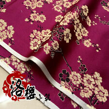 New Chinese clothing Dress Baby clothes kimono Woven brocade fabric Plum blossom